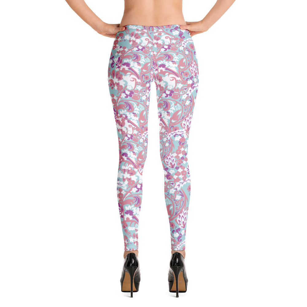 Doll Fairy Tropical Brocade Leggings - The Doll Fairy
