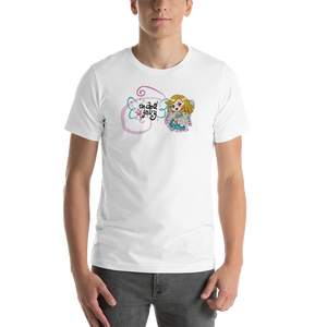 Doll Fairy Wings Short-Sleeve Unisex T-Shirt (White, Teal, Peach, Pink) - The Doll Fairy