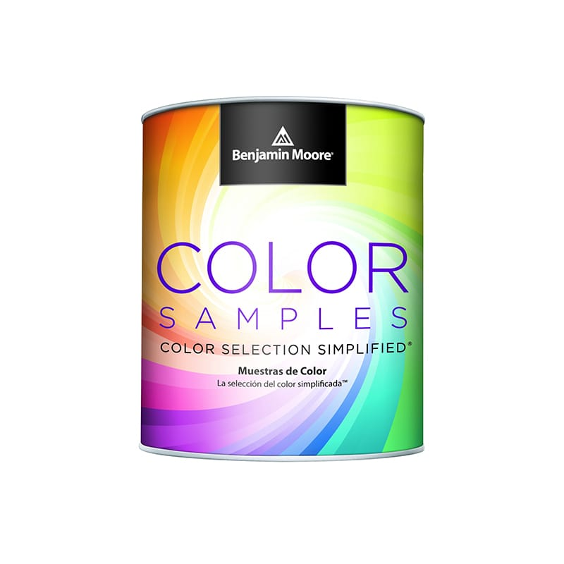 Benjamin Moore paint color sample pint, available at Catalina Paints in the Greater Los Angeles area.