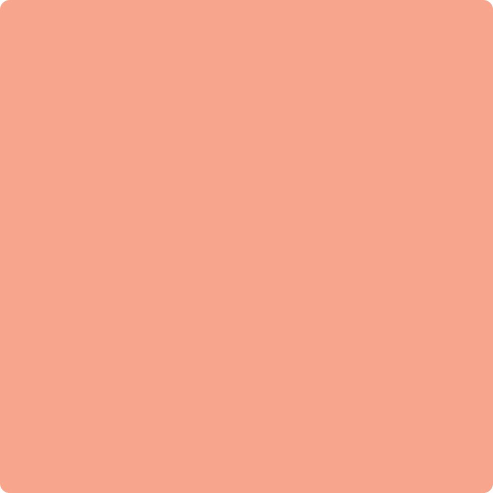 Shop 018 Monticello Peach by Benjamin Moore at Catalina Paint Stores. We are your local Los Angeles Benjmain Moore dealer.