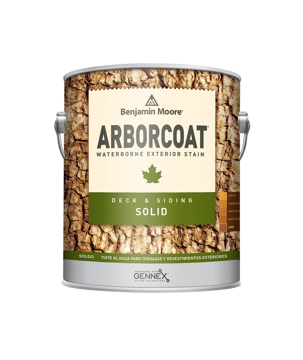 Arborcoat Solid, available at Catalina Paints in CA.