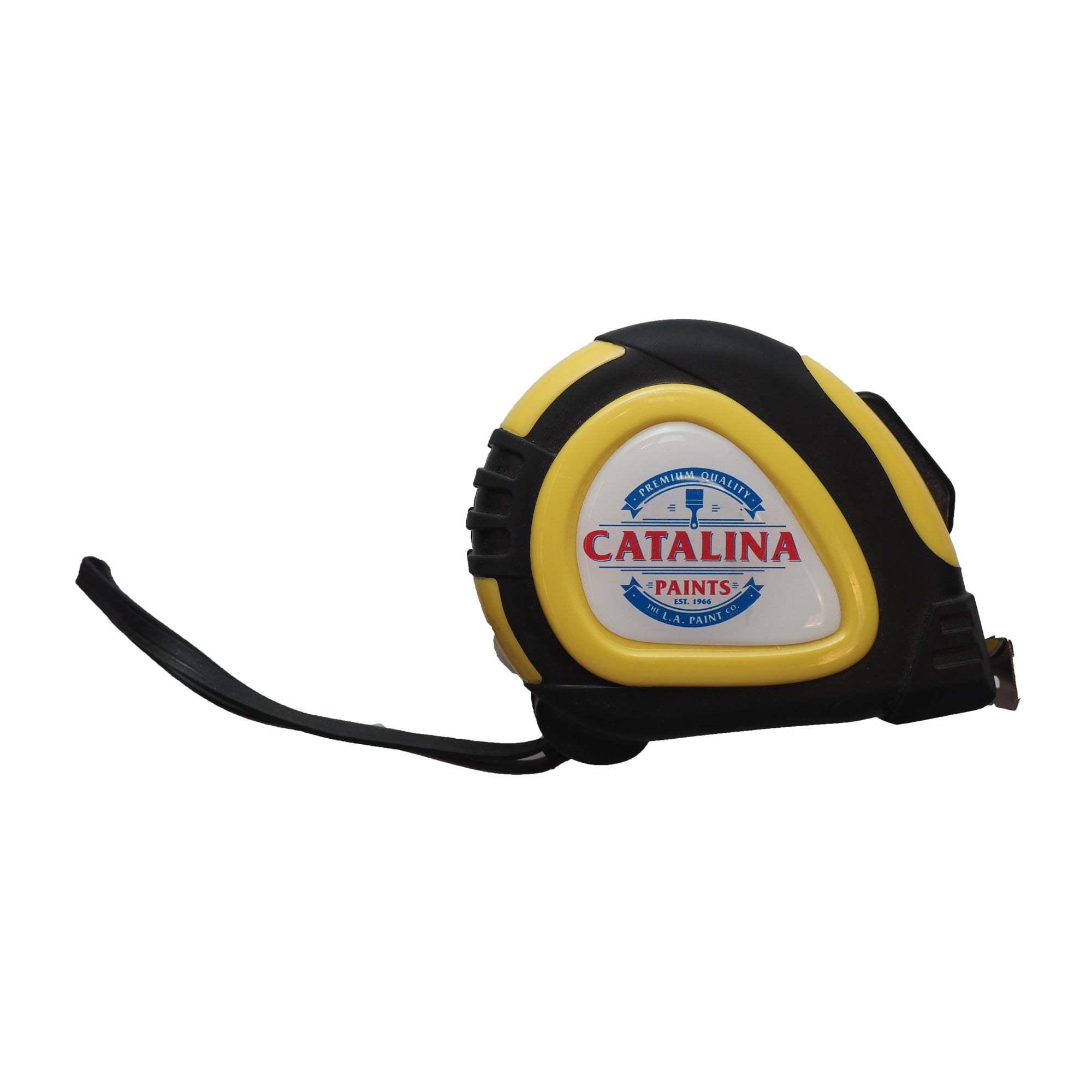 Catalina Paints Measuring Tape, available at Catalina Paints in CA.