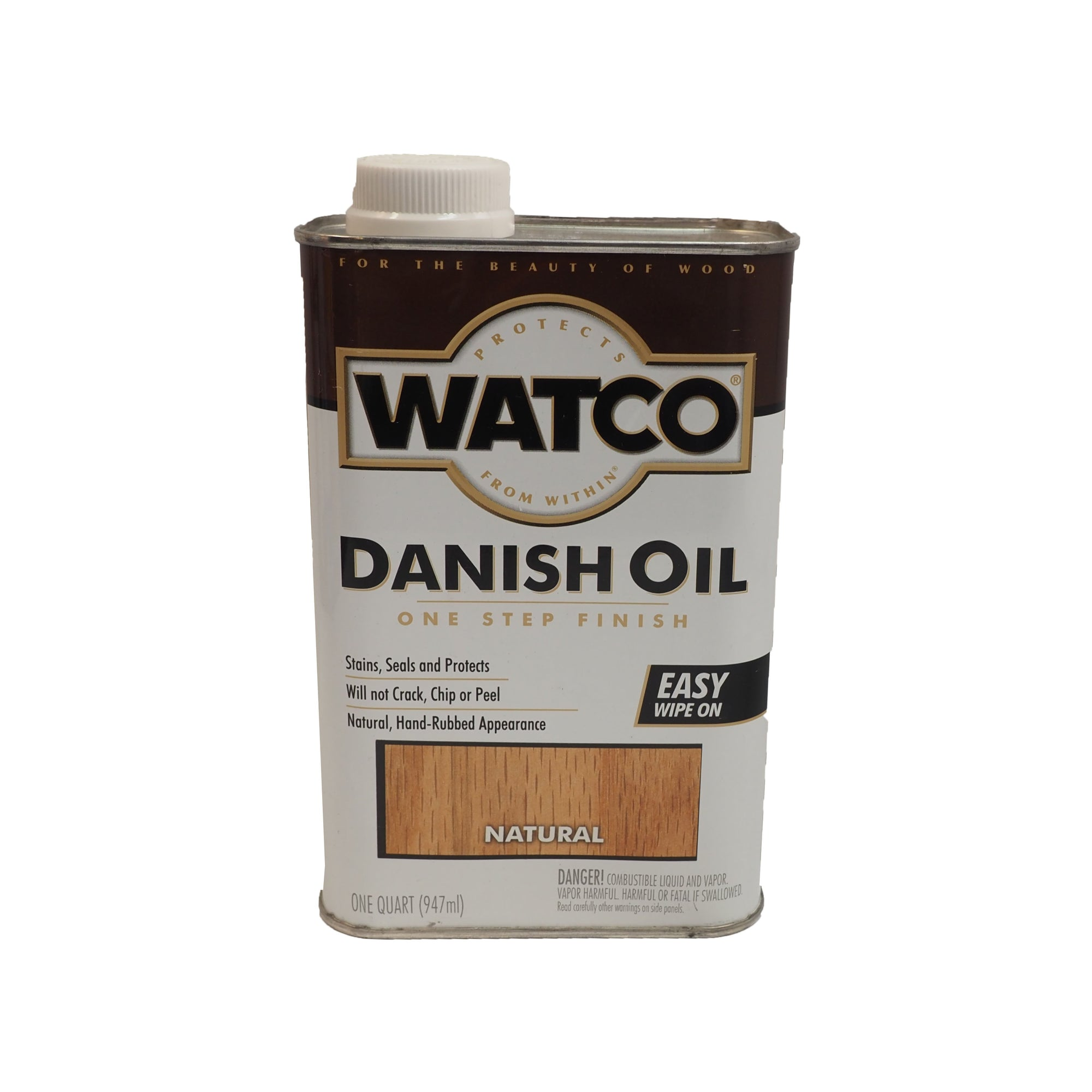 Watco Danish Oil, available at Catalina Paints in CA.