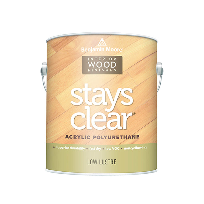 Benjamin Moore Stays Clear, available at Catalina Paints in CA.