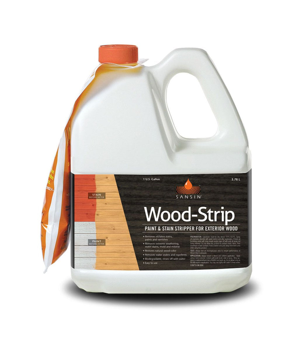 Sansin Wood Strip, available at Catalina Paints in CA.