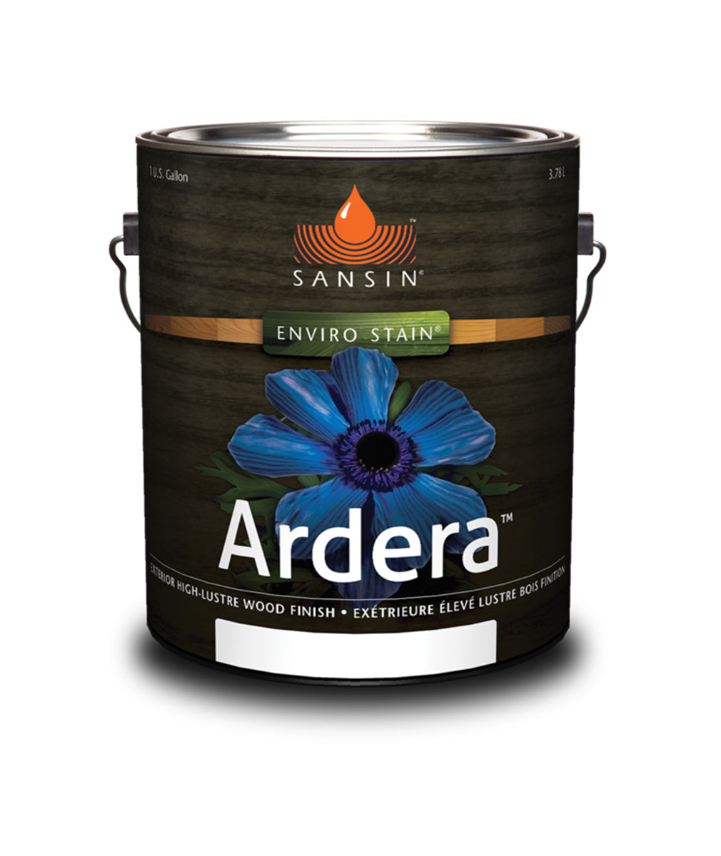 Sansin Ardera Exterior Wood Finish, available at Catalina Paints in CA.