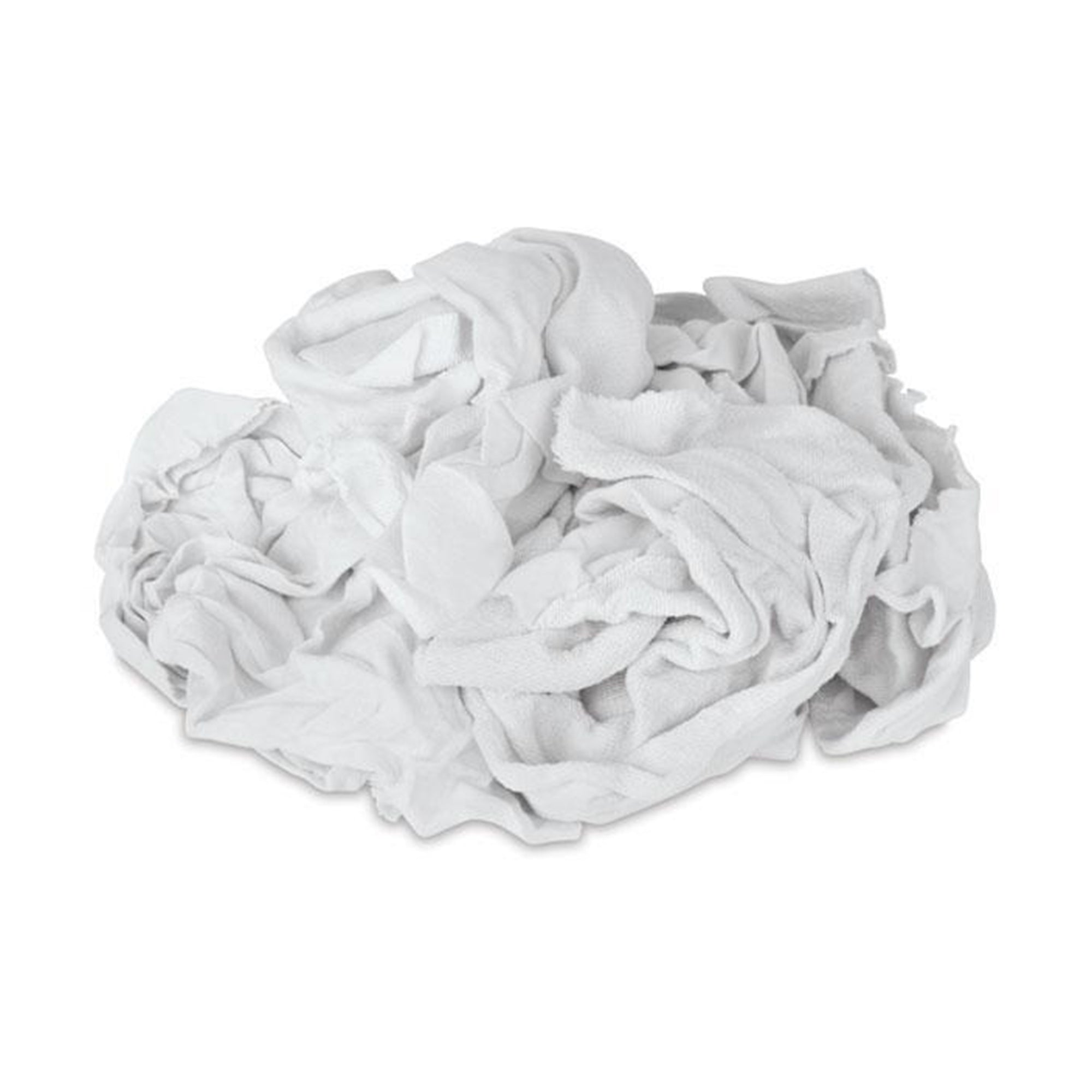 Bag of Rags-White new knit, available at Catalina Paints in Los Angeles County, CA.