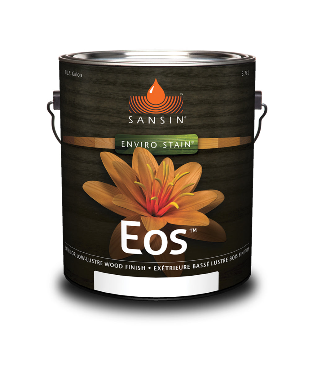Sansin EOS Stain, available at Catalina Paints in CA.