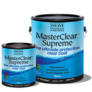 MasterClear Supreme Clear Coat, available at Catalina Paints.