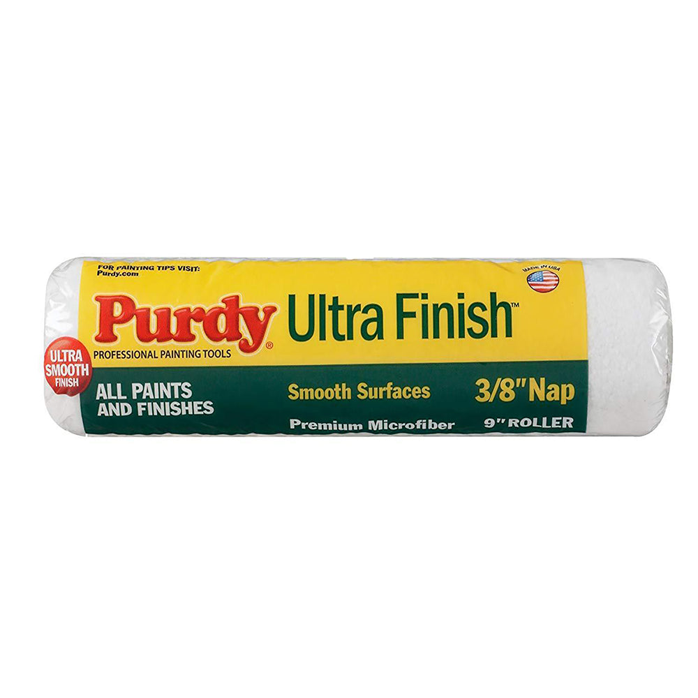 Purdy Ultra Finish Microfiber roller covers, available at Catalina Paints in Los Angeles County.