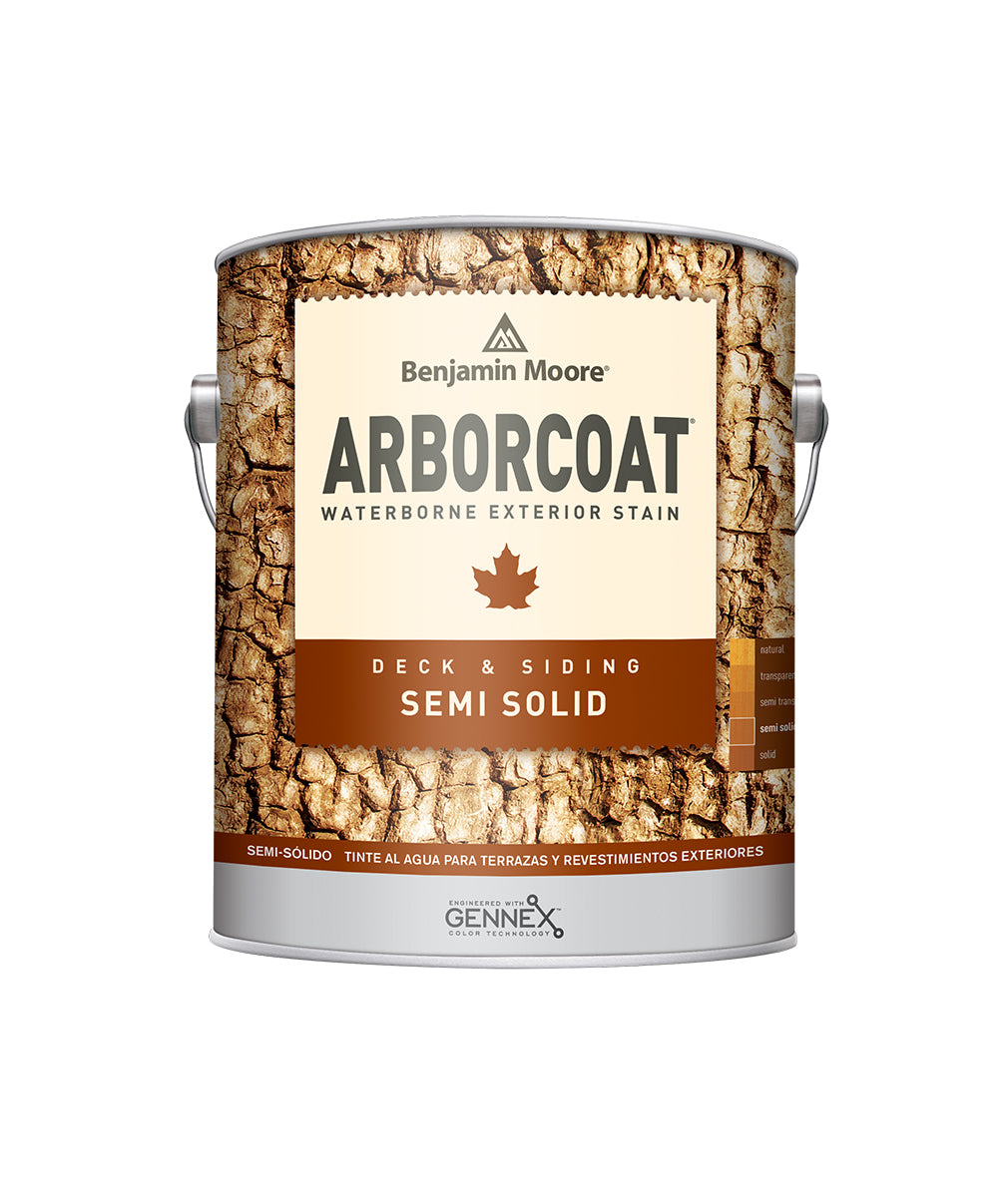 Arborcoat Semi-Solid Gallon, available at Catalina Paints in CA.