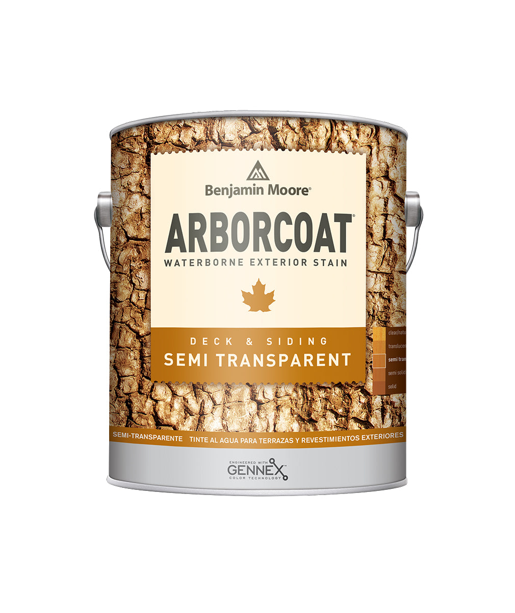 Arborcoat Semi-Transparent Gallon, available at Catalina Paints in CA.