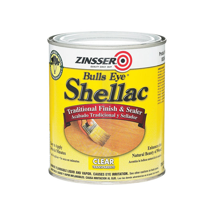 Zinsser Shellac finish and sealer, available at Catalina Paints in CA.