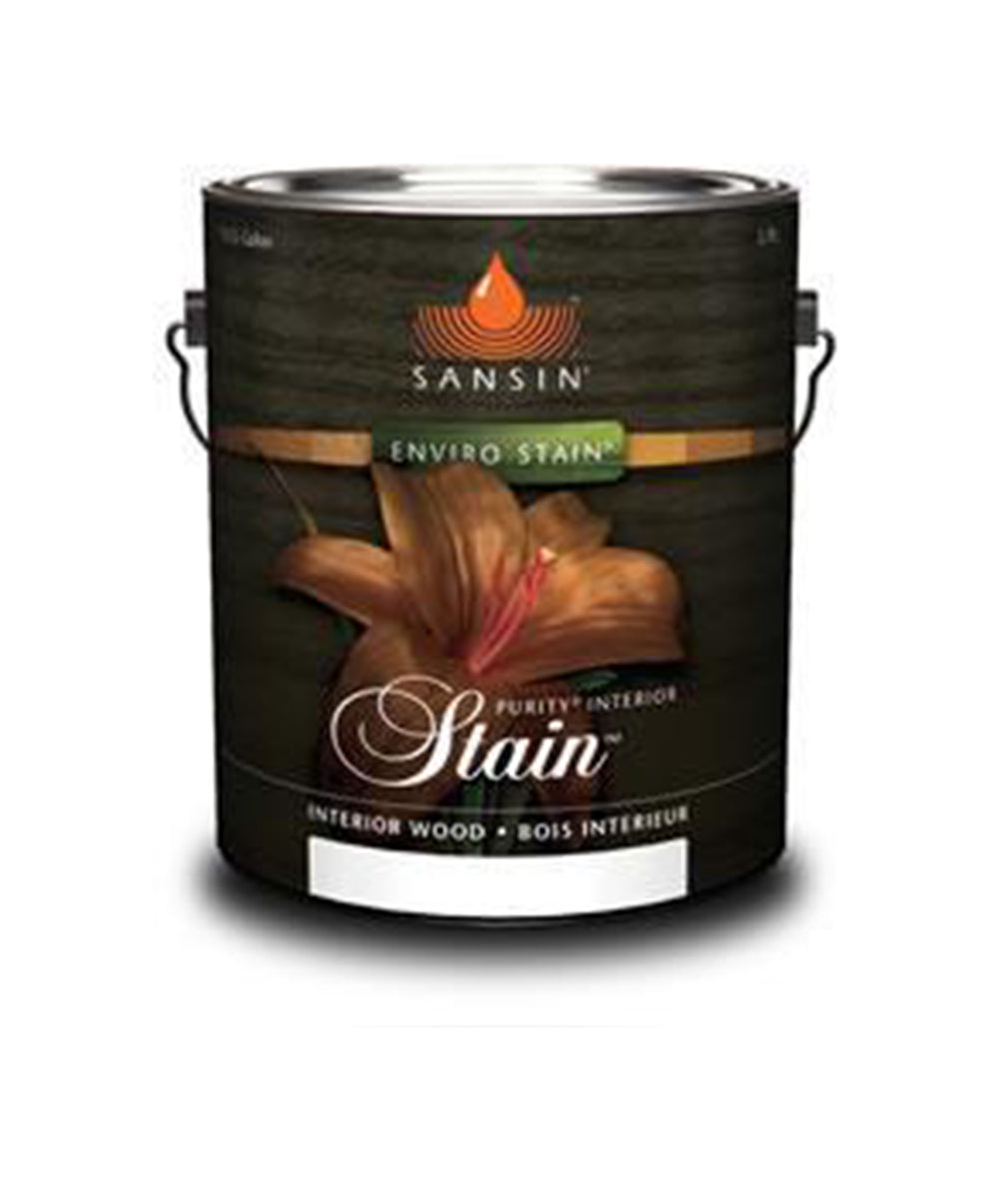 Sansin Purity Exterior Wood Stain, available at Catalina Paints in CA.
