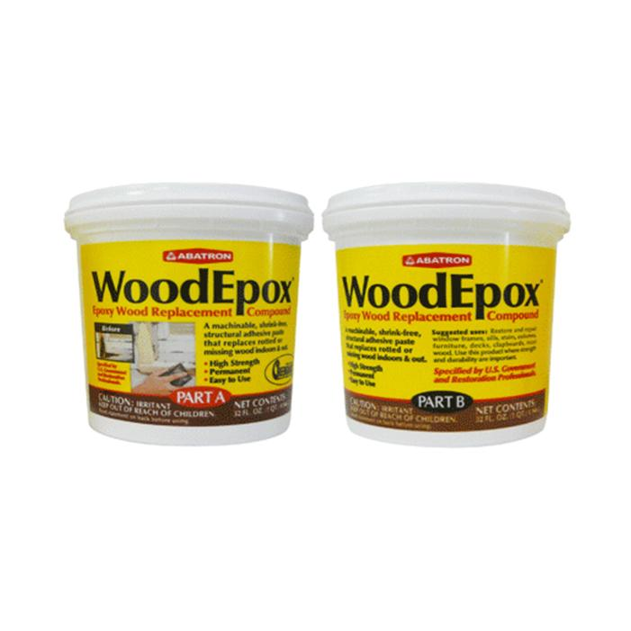 WoodEpox® Kits, available at Catalina Paints in CA.