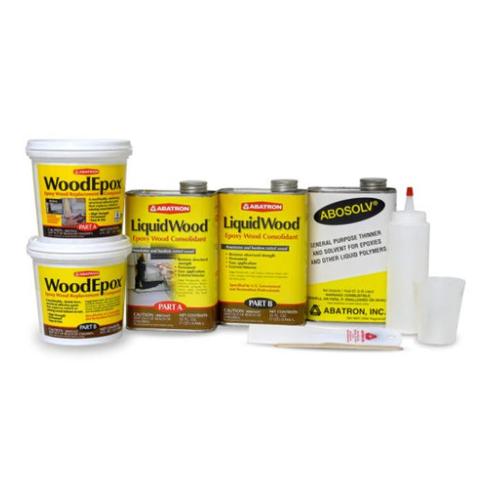 Wood Restoration Kits, available at Catalina Paints in CA.