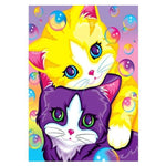 2019 5d DIY Diamond Painting Set Cartoon Cat Home Decor VM20075