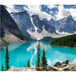Dream Series Cheap Mountain Lake Diamond Painting Kits AF9549