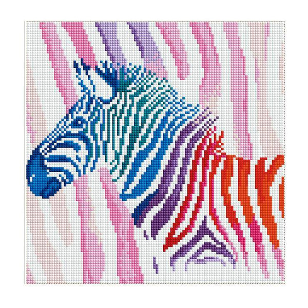 Cheap Colorful Horse Diamond Painting Kits for kids AF9153