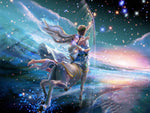 12 Constellations Sagittarius 5D DIY Diamond Painting Kits VM90005