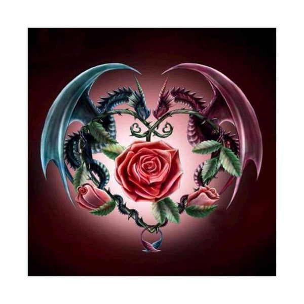 Cheap Dragon Diamond Painting Kits AF9122