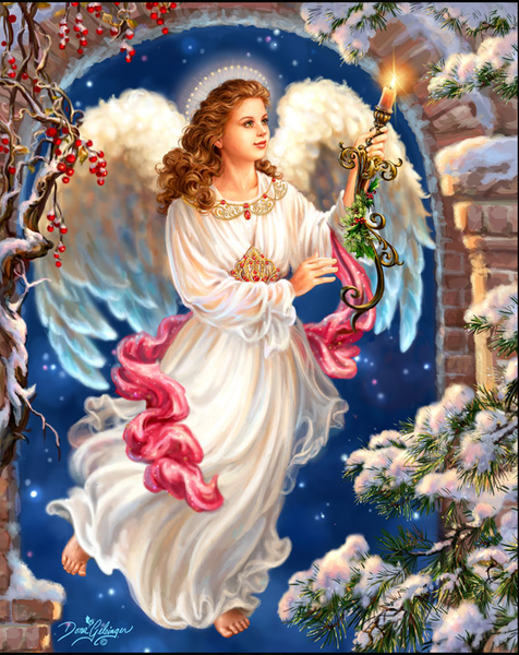 2019 5D DIY Diamond Painting Angel With Candle VM90013