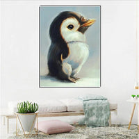 2019 5d Diy Diamond Painting Kits Cute Penguin Baby VM77015