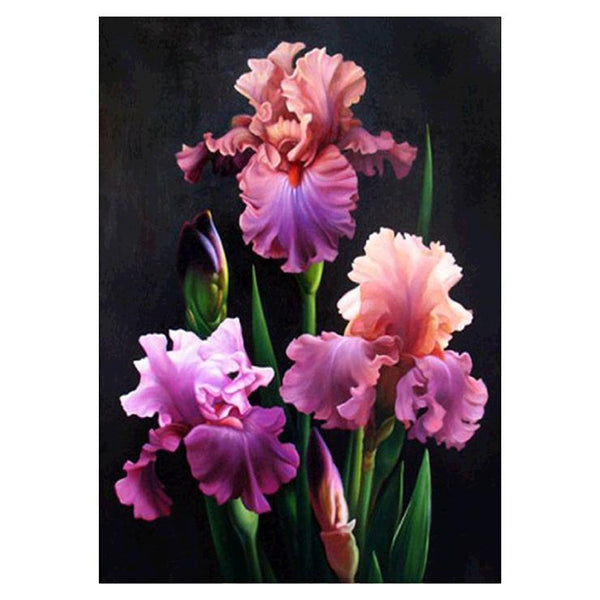 2019 5d Diy Diamond Painting Kits Purple Butterfly Orchid VM937
