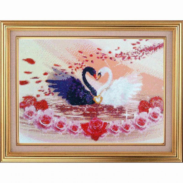 2019 5d Diy Diamond Painting Kits Swan love VM9949