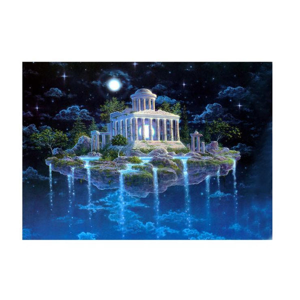 5d Diy Diamond Painting Kits Best Fantasy Mystical Castle  QB7105