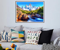 2019 5d Diy Diamond Painting Kits Natural Moutain VM79213