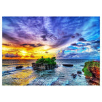 Dream Attractive Landscape Pattern 5d Diy Cross Stitch Diamond Painting Kits QB7121