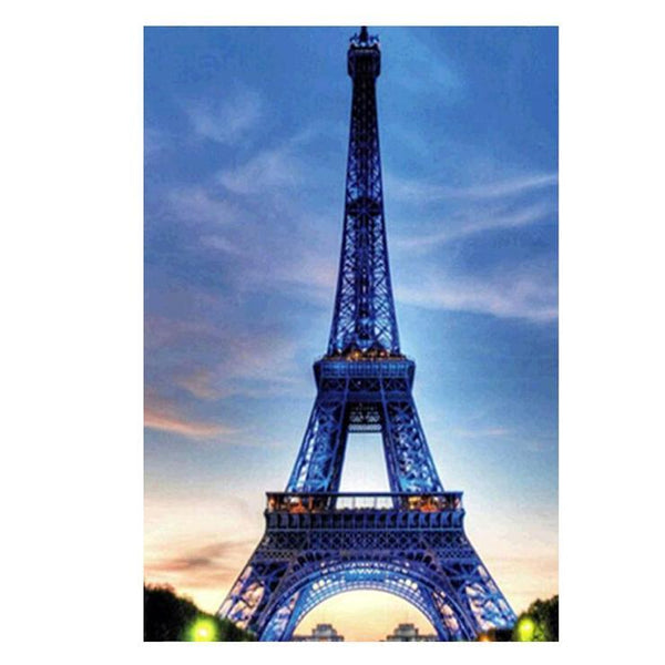 Cheap Landscape Eiffel Tower Diy 5d Diamond Painting Kits QB5364