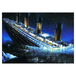2019 5d Diy Diamond Painting Kits Titanic Ship  VM9870