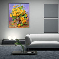 2019 5d Diy Diamond Painting Kits Flowers Wall Decor VM4013 (1767020822618)