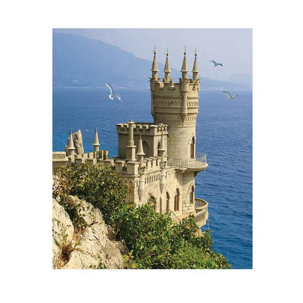 2019 5d Diamond Painting Kits Landscape Seaside Castle QB52381