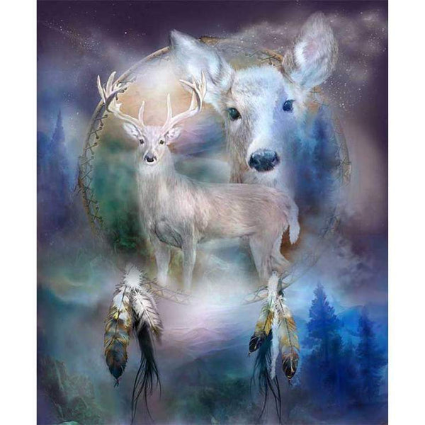 2019 5d Diy Diamond Painting Kits Fantasy Deer VM77020