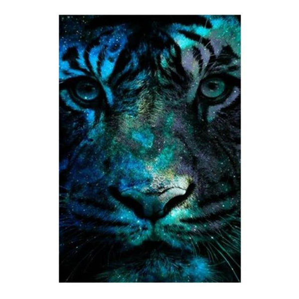 2019 5d Diy Full Diamond Painting Kits Special Animal Tiger Picture  QB5056