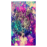 5d Diy Cross Stitch Diamond Painting Kits Special Dream Lion  QB6627
