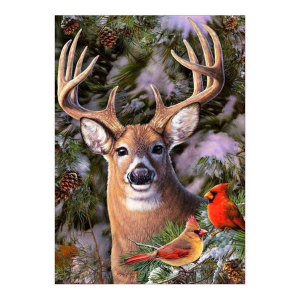 Cheap Deer Diamond Painting Kits For kids AF9141
