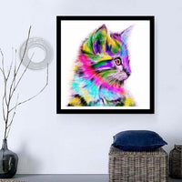 Hot Sale Special Beautiful Cat 5d Diy Cross Stitch Diamond Painting Kits VM0001 (1766923272282)