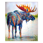 Cheap Modern Art Styles Deer Diamond Painting Kits For kids AF9137