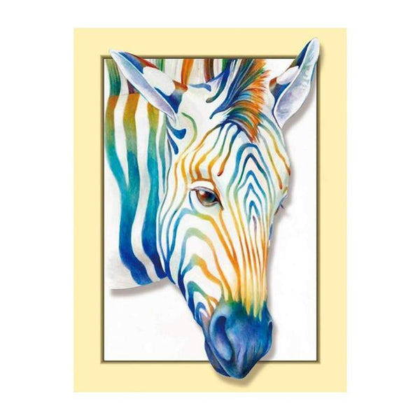 Modern Art Styles Lovely Colorful Horse Diamond Painting Kits AF9189