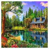 2019 5d Diy Diamond Painting Kits Dream Cottage VM8381