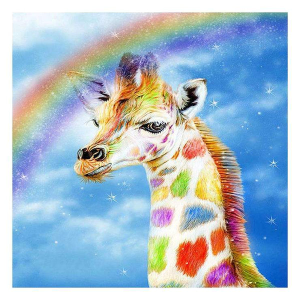 2019 5D DIY Diamond Painting Kits Giraffe  AF9150