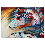 Colorful Modern Art Styles Horse Diamond Painting Kits AF9196