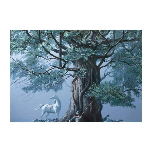 Cool Soldiers Tree Horse Diamond Painting Kits For Kids AF9200