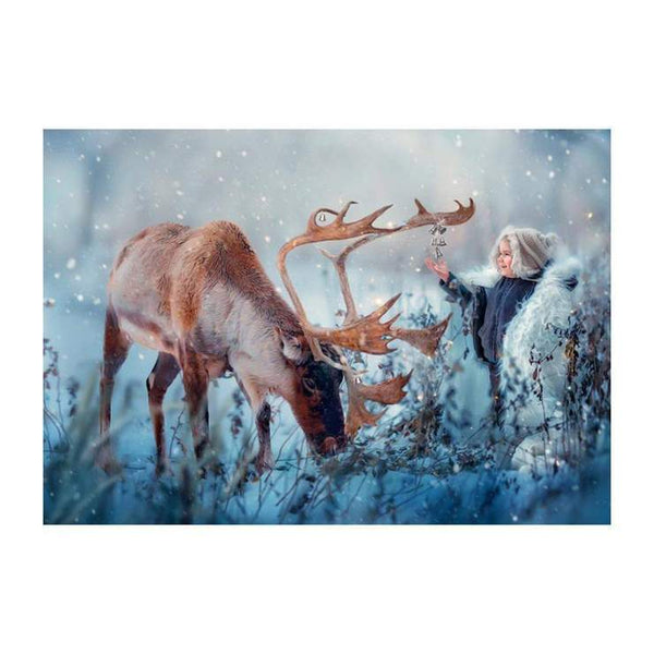 5d DIY Diamond Painting Winter Fantasy Styles Deer AF9143