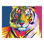 Oil Painting Art Cool Tiger 5d Diy Diamond Painting Kits VM7413