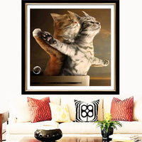 New Arrival Hot Sale Funny Cats Lovers Titanic 5d Diy Diamond Painting Cross Stitch Kits VM0090 (1766928089178)